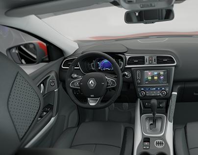 3D Renault Kadjar | Configurator