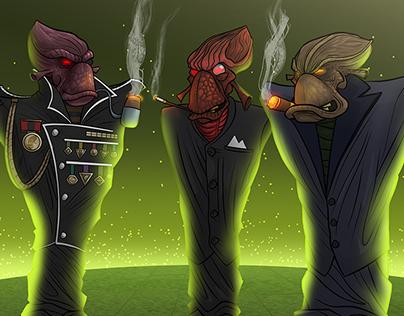 Oddworld: Abe's Exoddus - The Executives