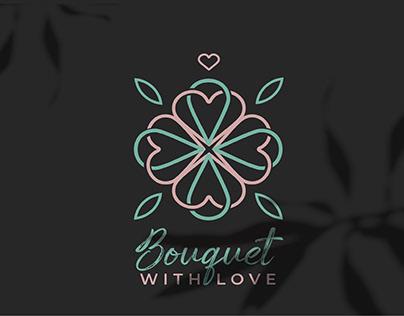 "Branding flower shop ""Bouquet with love"""