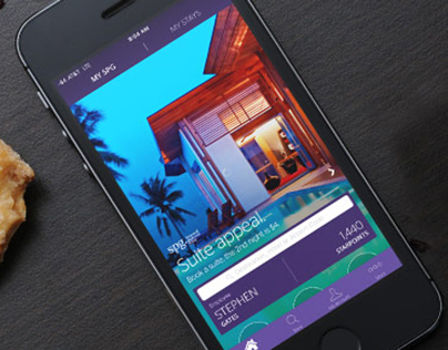Starwood Preferred Guest iOS 7 iPhone App