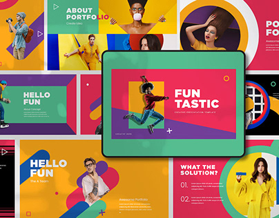 FUN TASTIC - FREE POWERPOINT TEMPLATE