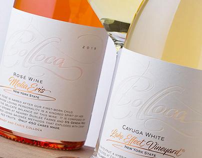 Colloca wine label restyle