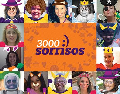 3000 Sorrisos :)