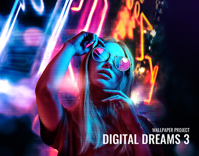 Digital Dreams 3 (Wallpaper)