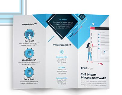 Tri-fold Brochure for PriceEdge