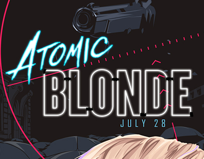 Atomic Blonde - Alternative Movie Poster