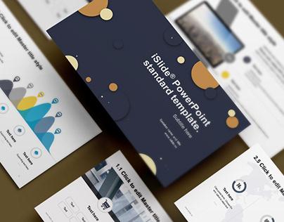 iSlide PowerPoint Template - Business Plan 2018