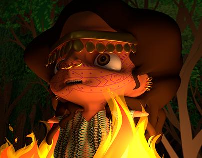 El Ceibo (3D Story still Images + Animation Testing)