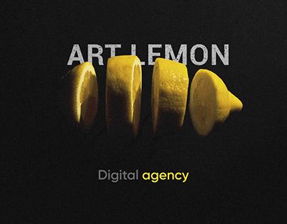 Art Lemon — Digital Agency website design