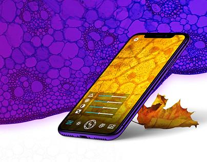 Sticky Lens | Mobile application