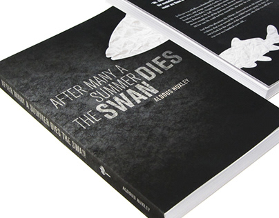 MFA Work: Aldous Huxley Book Design