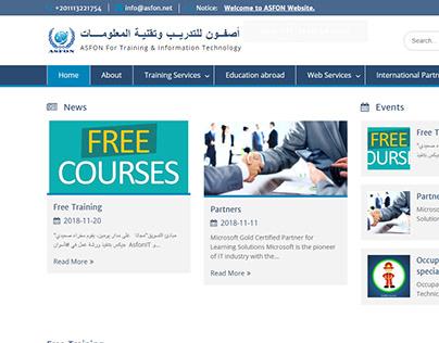 ASFON for Training & Information Technology