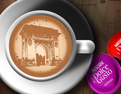 Dolce Gusto Cities Campaign Poster Design