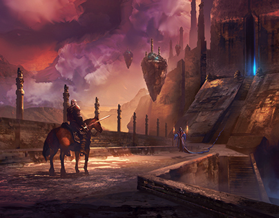 TEMPLE - Fantasy Environment Concept Art