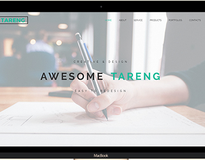 Tareng – Portfolios and selling HTML template