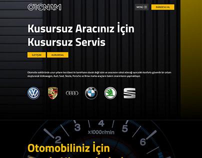 OTONAM - Web Tasarım