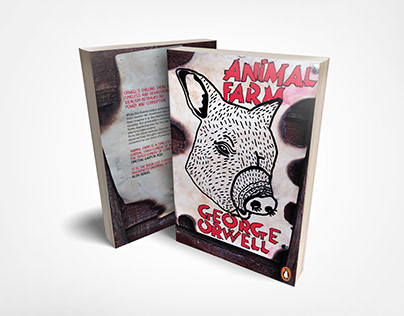 Animal Farm Redesigned Book Covers