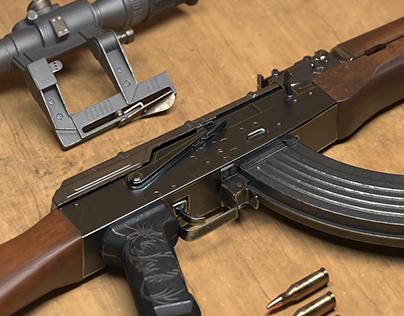 AKM 3D Model