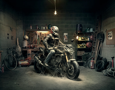 Yamaha FZ8 - Adv Campaign