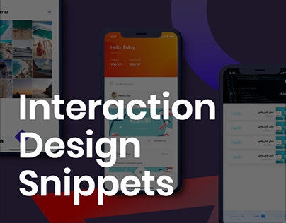 Interaction Design Snippets