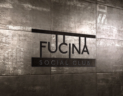 Fucina Social Club // brand identity