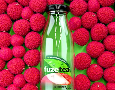 Coca Cola México / Fuze Tea Litchi Pop Up Campaign