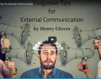 Forgotten Tips for External Communication