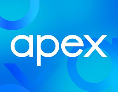 UI/UX design for Apex Interactive