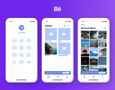SecretFolder - iOS App Design