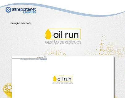 Criação de Marca - Oil run