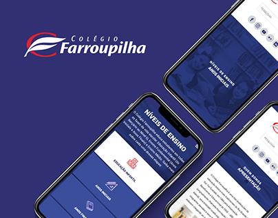 Colégio Farroupilha - Website