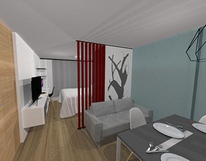 2018 | Apartamento Armenia // Apartment Interior Design