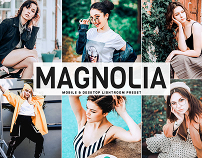 Free Magnolia Mobile & Desktop Lightroom Preset