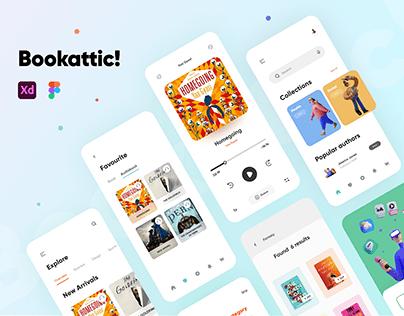 Bookattic: Ecommerce App for book lovers