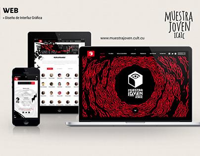 Website Design · Muestra Joven ICAIC