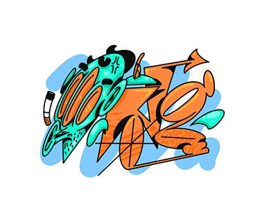 | Digital Graffiti Stickers |