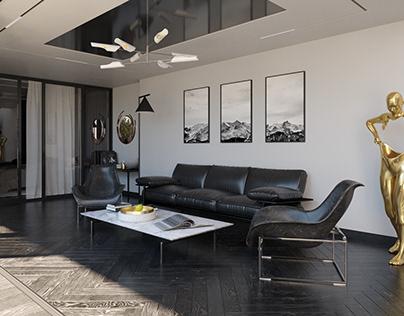 CGI-Little House Interior