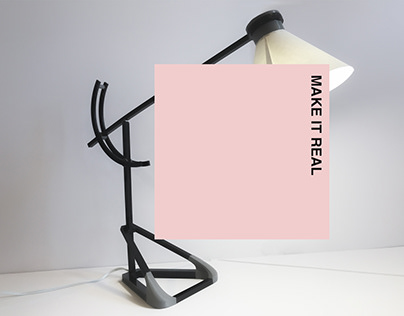 Make it Real-lamp series w/ 3D print, laser cut and CAD
