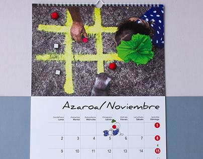Calendario Algaraklown 2020
