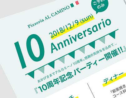 10 Anniversario/Flyer