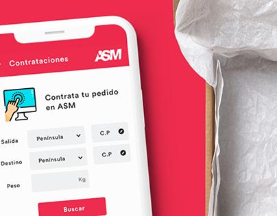 ASM Restyling - UI / UX Design