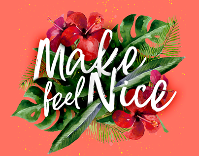 Single Cover | Make feel Nice