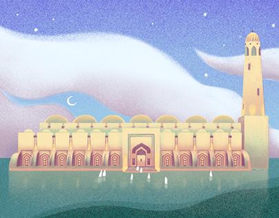 Eid Postcard from Qatar