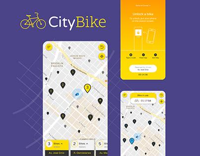 CityBike - Bike Renting App