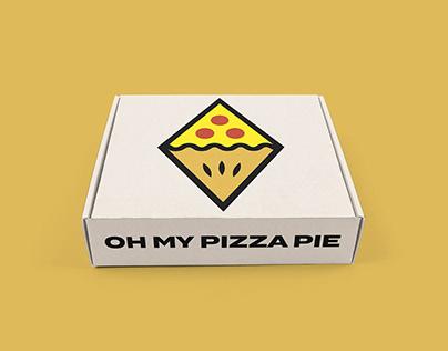 Oh My Pizza Pie Branding