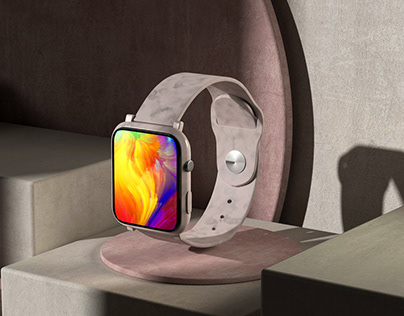 3D Apple Smartwatch