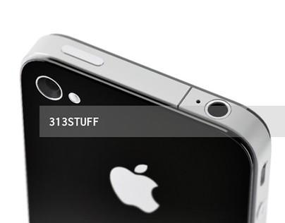 3d model of classics iPhone 4