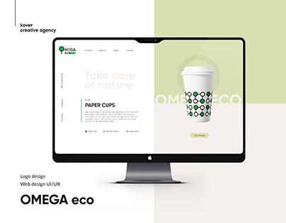 Omega Eco - website design