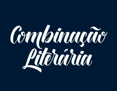 Combinação Literária - Logotype creation project