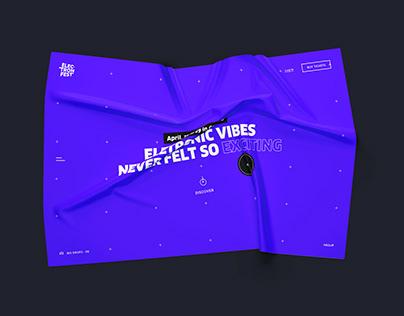 Electron music festival 2020